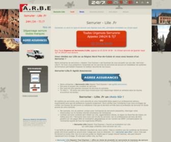 Serrurier-lille.fr - Serrurier Lille Urgent 24h24, Ouverture de porte, TH 43€(*)