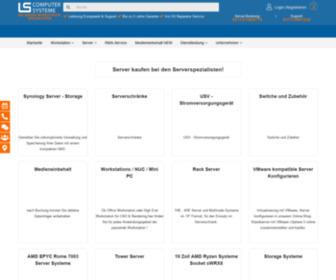 Server-konfigurieren.de - Server kaufen bei LS Computersysteme - Die Serverspezialisten