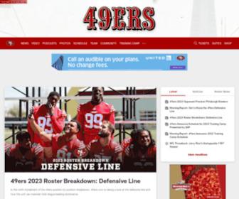 Sf49ers.com - 49ers.com | The Official Site of the San Francisco 49ers