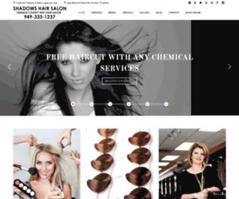 Shadowssalon.com - Shadows Hair Salon Orange County Best Hair Salon Irvine, CA