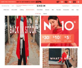 Shein.com - SheIn.com - Contemporary Women's Fashion at Affordable Prices
