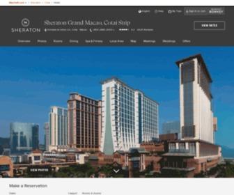 Sheratonmacao.com - Macao Five Star Hotel | Sheraton Grand Macao Hotel, Cotai Central