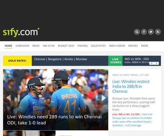 Sify.com - Sify.com | Cricket Scores | IND in NZ | Gold Rate | Movie Reviews | Hockey World Cup | Latest News | India News