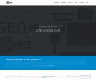 Siteyukseltme.com - Site yükseltme google da ilk sırada çıkmak SEO