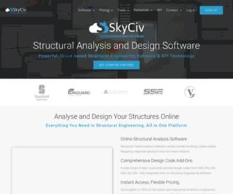 Skyciv Skyciv Com Cloud Structural Analysis Software Statscrop