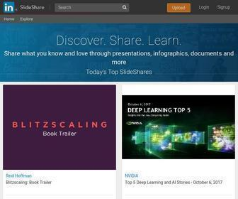 Slideshare.net - Share and Discover Knowledge on LinkedIn SlideShare