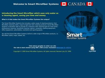 Smartmicrofiber.com - Smart Microfiber Systems : Cleaning Products That Use Only Water : Edmonton, Alberta