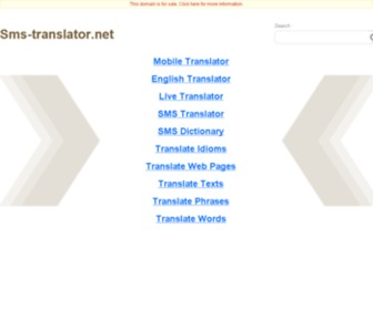Sms-translator.net - Sms-translator.net