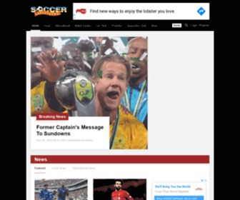 Soccerladuma.co.za - South African soccer news
