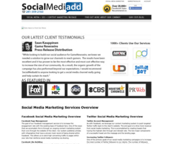 Socialmediadd.com - Social Media Marketing Services and Packages for Business