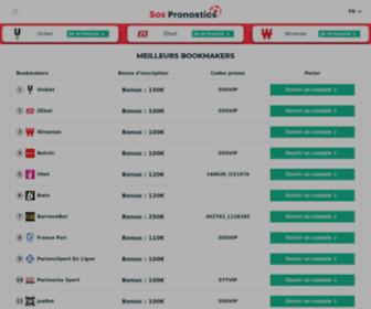 Sospronostics.com - Pronostic & Meilleurs Sites de Paris Sportif - SosPronostics.com