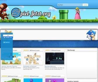 Spiel-jetzt.org - Kostenlose Spiele - Online Spiele kostenlos spielen auf Spiel-Jetzt