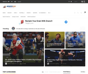 Sportzwiki.com - Current Sports Events, Latest Sports Update, Sports 2017 - Sportzwiki