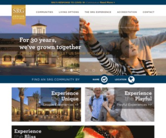 Srgseniorliving.com - Experience the SRG Difference | SRG Senior Living