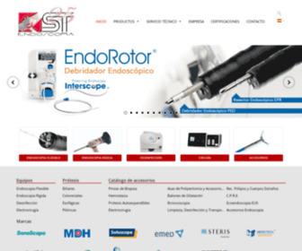 St-endoscopia.es - ST Endoscopia – Venta de equipos y accesorios para endoscopia