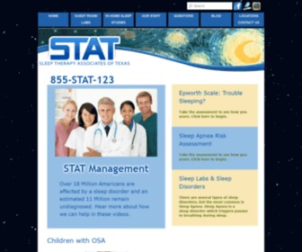 Stat-management.net - HOME - Sleep Therapy Associates of Texas