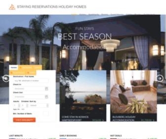 Stayingreservations.co.za - Staying Reservations Accommodation