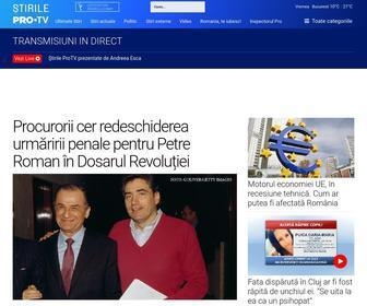 Stirileprotv.ro - Stiri de ultima ora, stiri online | Stirileprotv.ro - Stirileprotv.ro