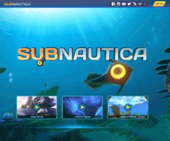Subnauticagame.com - Subnautica - An Underwater Exploration Game