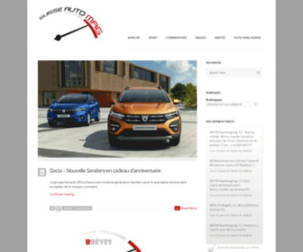 Suisseautomag.ch - Suisse Auto Mag, l'essentiel de l'automobile et du sport éponyme