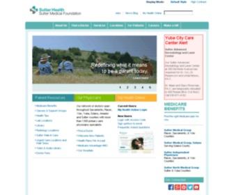 Suttermedicalfoundation.org - Sutter Medical Foundation | Sacramento, CA | Sutter Medical Foundation