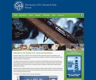 Svdpboston.com - Society of St. Vincent de Paul Boston
