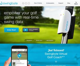 Swingbyte.com - Mobile golf swing analysis on your phone or tablet | Swingbyte