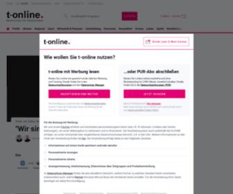 T-online.de - News, E-Mail und Shopping bei t-online.de