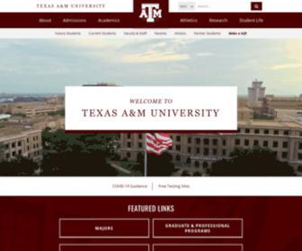Tamu.edu - Texas A&M University, College Station, TX