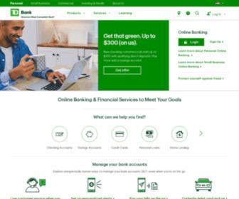 Td.com - TD Bank Group - Banking, Wealth Management & Insurance | TD Bank Group