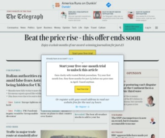 Telegraph.co.uk - The Telegraph - Telegraph Online, Daily Telegraph, Sunday Telegraph - Telegraph