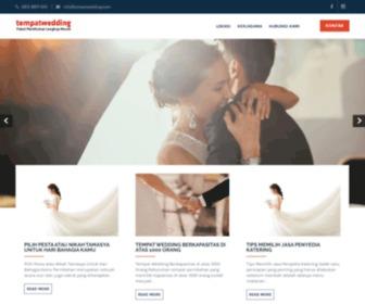 Tempatwedding.com - Tempat Pesta Jakarta. Paket Wedding Lengkap Murah