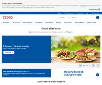 Tesco.com - Tesco   Online Groceries, Homeware, Electricals & Clothing
