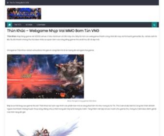 Thankhuc.com.vn - Thần Khúc | Webgame Nhập Vai Chiến Thuật Hay Mới Nhất