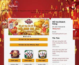 Thapthanh.com - Chơi game đánh chắn online - Chắn Thập Thành miễn phí