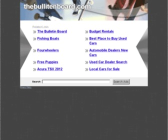 Thebullitenboard.com - Thebullitenboard.com: The Leading The Bulletin Board Site on the Net