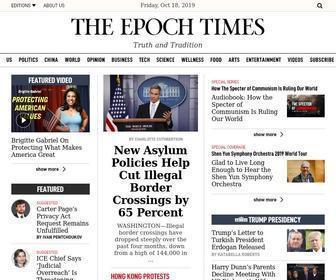 Theepochtimes.com - The Epoch Times - Breaking news, independent China news