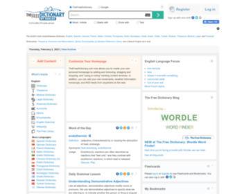 Thefreedictionary.com - Dictionary, Encyclopedia and Thesaurus - The Free Dictionary