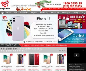 Thegioialo.com.vn - Thế Giới A Lô - Bán Apple iPhone, iPad, Watch, Mac, TV, Phụ kiện...chính hãng.