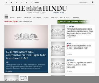 Thehindu.com - The Hindu: Breaking News, India News, Sports News and Live Updates