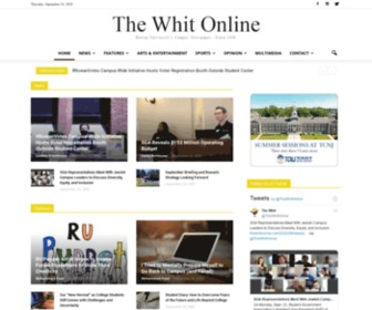 Thewhitonline.com - The Whit Online | Rowan University's Campus Newspaper since 1938
