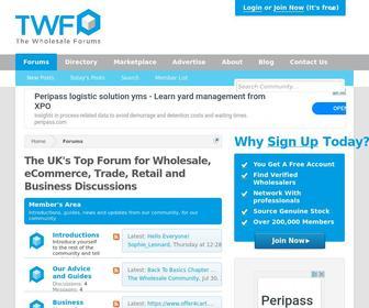 Thewholesaleforums.co.uk - The Wholesale Forums