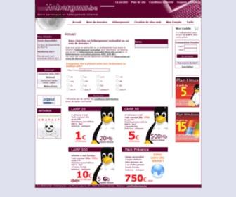 Tib.be - Hébergement de sites Internet, Nom de domaines, Création de sites Internet - Hebergeur.be