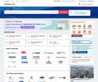 Timesjobs.com - Jobs Search | Recruitment | Employment | Job Vacancies | TimesJobs