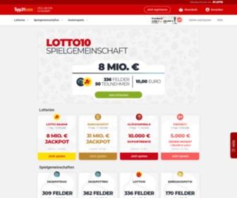 Lotto Im Internet Einfach Gewinnen Tipp24 Com
