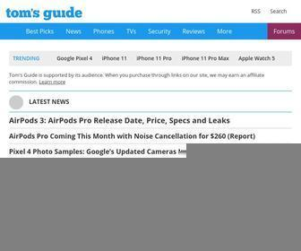 Tomsguide.com - Tom's Guide: Tech Product Reviews, Top Picks and How To
