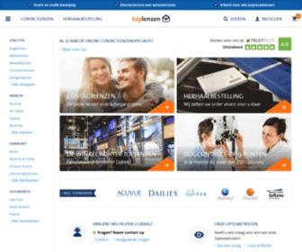 Toplenzen.nl - Toplenzen - Alle merken Contactlenzen & Lenzenvloeistof Online Bestellen. Goedkope lenzen als daglenzen, torische lenzen, maandlenzen, multifocale lenzen en meer