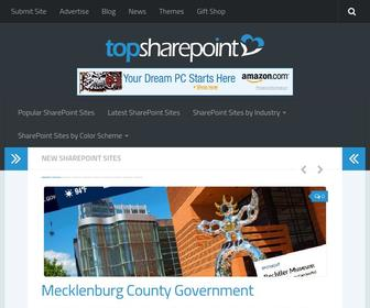 Topsharepoint.com - Top SharePoint Sites | SharePoint Branding Examples | Best SharePoint Design Examples | Free SharePoint Themes and Templates