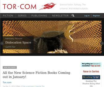 Tor.com - Tor.com | Science fiction. Fantasy. The universe. And related subjects.