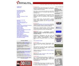 Totalita.cz - TOTALITA.CZ - Vznik a vývoj totalitního režimu v Československu